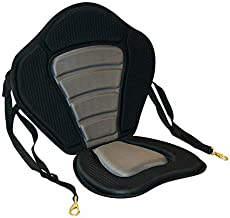 LEAQU Outdoor Cushion Universal Adjustable Portable Breathable Kayak Padded Seat Pad Canoe Sit On Top Boat Back Rest