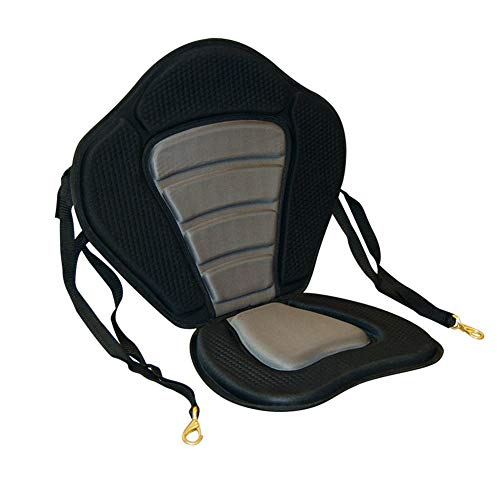 LEAQU Outdoor Cushion Universal Adjustable Portable Breathable Kayak Padded Seat Pad Canoe Sit On Top Boat Back Rest -  GrmeisLemc, 1964525