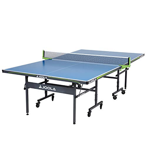 JOOLA Table Tennis Table with Waterproof Net Set | All Weather Aluminum Composite Ping Pong Table for Tournament Quality Play | Indoor & Outdoor Compatible | 10 Minute Easy Assembly
