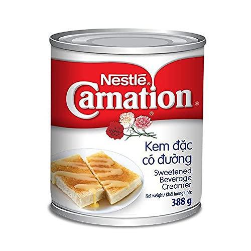 ネスレ カーネーション 加糖練乳 384g Nestle Carnation Sweetened Beverage Creamer