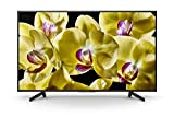 Sony KD-43XG8096 - Televiseur 43' 4K Ultra HD HDR LED avec Android TV (Motionflow XR 400 Hz, 4K X-Reality Pro, TRILUMINOS, Wi-FI), Noir