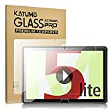 KATUMO Protector de Pantallla para Huawei Mediapad M5 Lite 10,1 Cristal Templado Huawei Mediapad M5 Lite 10 Vidrio Templado