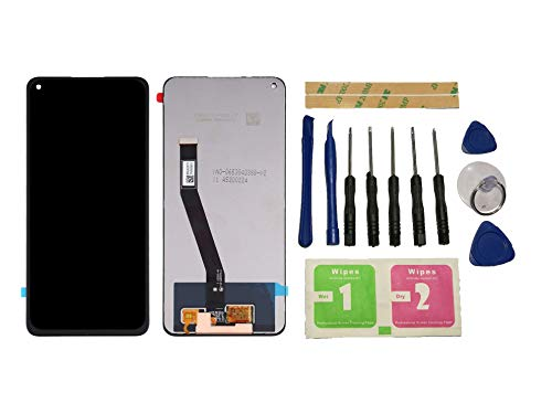 Flügel para Xiaomi Redmi Note 9 / Redmi 10X 4G Pantalla LCD Pantalla Negro Táctil digitalizador Asamblea Pantalla (sin Marco) de Recambio & Herramientas
