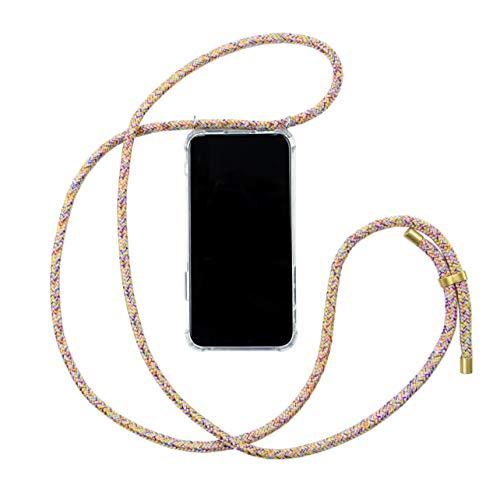HANEK Funda iPhone 11 Pro MAX Funda de móvil con cordón para Colgar – Cuerda para Llevar en el Cuello Colgante – Carcasa de TPU de Alta Resistencia – Deja el Bolso en Casa – Hecho a Mano