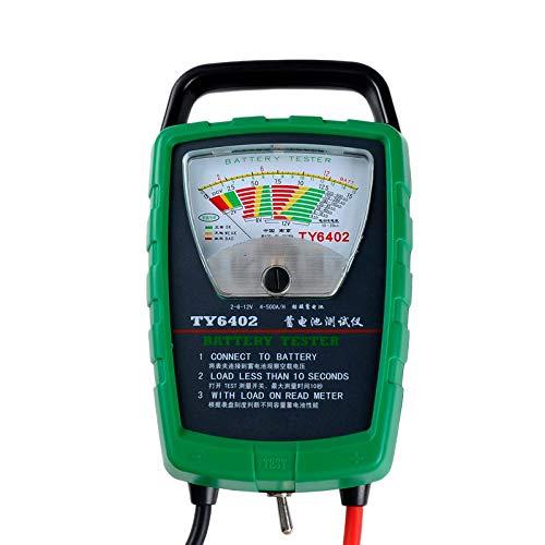 CUHAWUDBA Ty6402 500A 2V 6V 12V Probador De Baterías De Automóviles Y...