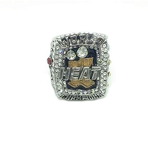 TYTY 2013 NBA Heat Wade James Championship Ring per Il Regalo di visualizzazione Fans Uomo e Campione Keepsake Anelli Replica,with Box,11