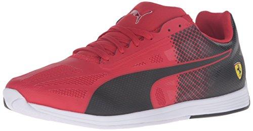 PUMA Herren Evospeed Sock Scuderia Ferrari Sneaker, Rosso Corsa Schwarz, 41 EU thumbnail