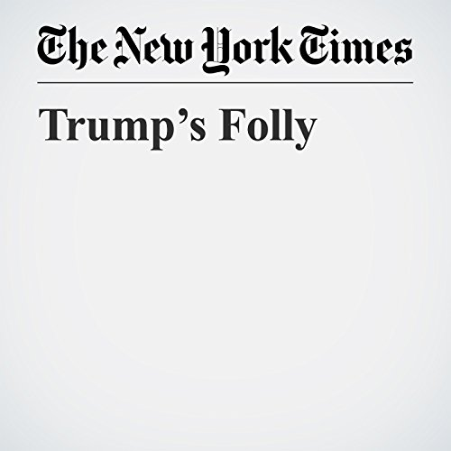 Trump's Folly copertina