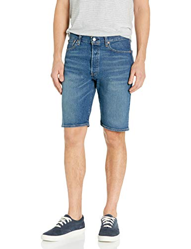 Levi's Men's 501 Hemmed Short, Prosciutto - Stretch, 32