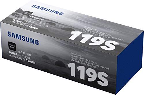 Samsung MLT-D119S/ELS Original Toner (Hohe Reichweite, Kompatibel mit: ML-1610, ML-2010/ML-2510/ML-2570/ML-2571N, SCX-4321/4521F) cyan