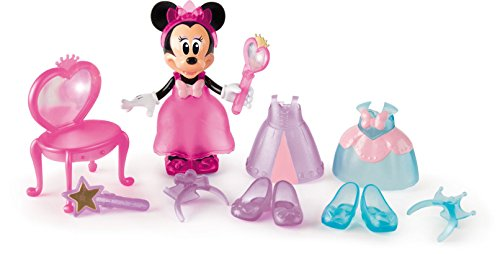 IMC Toys- Disney Minnie Princesa de Ensueño (182172)