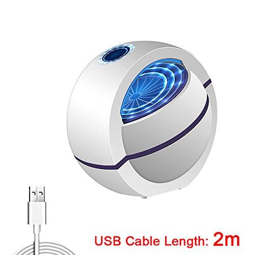 Acptxvh Moskito-Mörder-Lampe mit USB, E-Bug Zapper No Noise 360 ° Insektenvernichter, Mosquito Trap-Licht für Schlafzimmer Haus,A