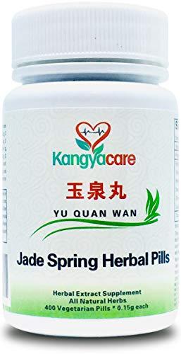 [Kangyacare] Yu Quan Wan - Jade Spring Herbal Pills - Blood Sugar Balance, Promotes Healthy Blood Glucose & Lipid Levels and Insulin Activity, 100% Natural Herbs, 400 Ct/Bottle (1 Bottle)