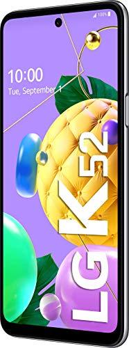 LG K52 Smartphone 64 GB (16,76 cm (6,6 Zoll) LCD-Display, Quad-Hauptkamera, 3D-Sound, MIL-STD-810G, Android 10), Weiß