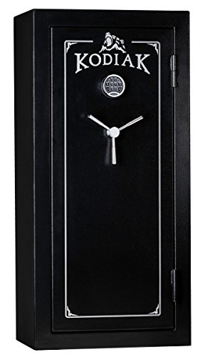 Kodiak KB19ECX Gun Safe by Rhino Metals, 30 Long Guns & 4 Handguns, 350 lbs, 30 Minute Fire Protection, Electronic Lock and Bonus Deluxe Door Organizer