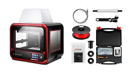 2020 Nouvelle imprimante 3D de Bureau M-Smart, Mise à Niveau de A-Smart, construit Volume de 6.7''x5.9''x6.3'' (170x150x160mm) Connexion WiFi, Impression précise avec ABS, PLA, TPU