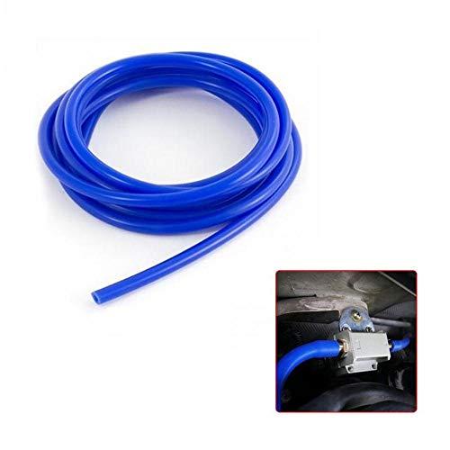 PENVEAT 3 mm / 4 mm / 5 mm / 6 mm / 7 mm / 8 mm / 9 mm Manguera de riego de jardinería Manguera de vacío de Silicona Tubo Tubo de Aire de Agua Azul Manguera Suministros de jardinería, 5 mm