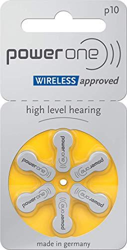 Power un Type p10 Lot de 30 Piles auditives