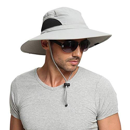 EINSKEY Cappello Pescatore Uomo Donna Anti UV Tesa Larga Bucket Hat per Campeggio, Pesca, Caccia, Ciclismo