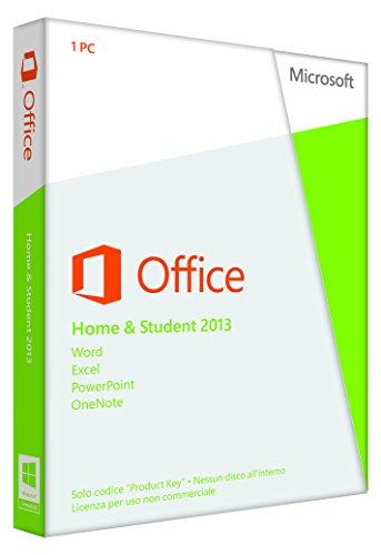Microsoft Office Home and Student 2013, 32 & 64 Bit  [Lingua: Italiano]