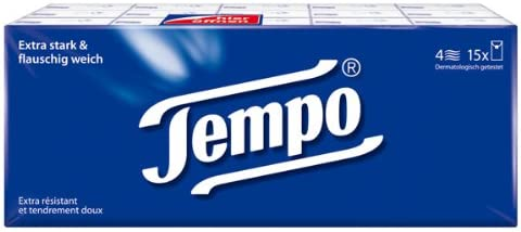 15 packs of Tempo paper GERMANY Ranking TOP7 -from Max 73% OFF German Handkerchiefs