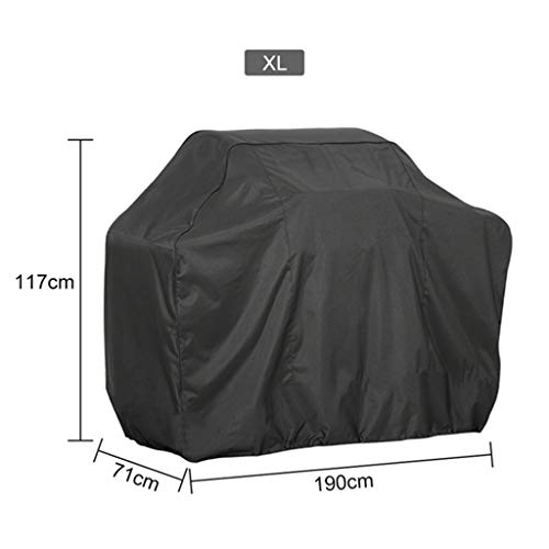 niumanery BBQ Cover Outdoor Dust Waterproof Weber Heavy Duty Grill Cover Rain Protective 8#
