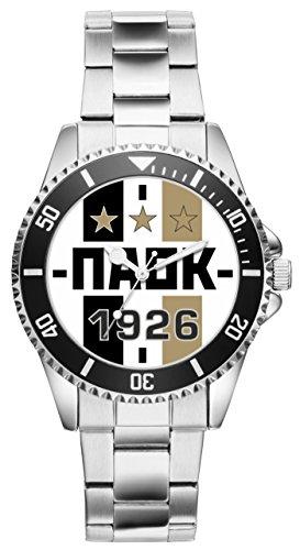 PAOK Geschenk Artikel Idee Thessaloniki Fan Uhr 20296