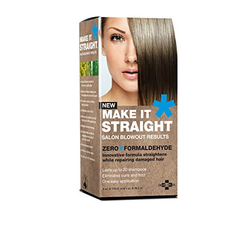 Make It Straight - Blow Out Results Hair Straightener