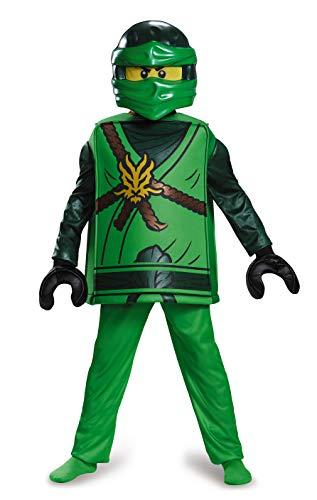 Disguise Lloyd Deluxe Ninjago Lego Costume, Medium/7-8