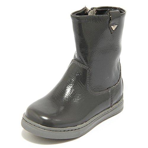 3654F Stivale Grigio Armani JUNIOR Scarpa Bimba Boots Shoes Kids [23]