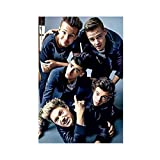 One Direction 1 Canvas Poster Wall Art Decor Print Picture Paintings for Living Room Bedroom Decoration Unframe:12×18inch(30×45cm)