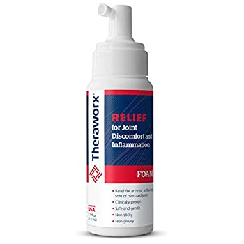 Theraworx Relief Joint Discomfort & Inflammation Foam 7.1oz