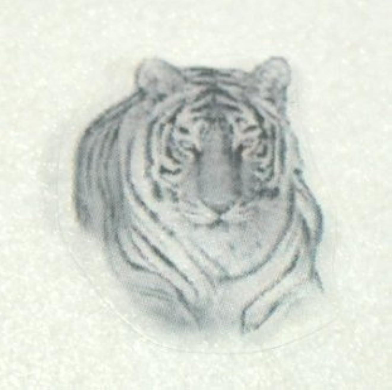 動物【ネイルアートペイントシール】トラ?虎/1シート4枚入