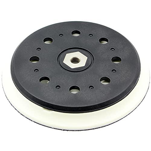 Plato abrasivo de 150 mm de diámetro, 15 agujeros, para lijadora excéntrica Makita BO6050, BO6050J sustituye a 197315-5