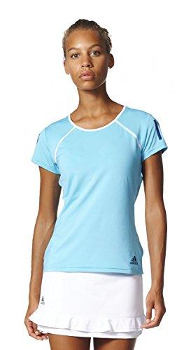 adidas - Tennis-T-Shirts für Damen in Blau (Samblu / Mysblu), Größe XS