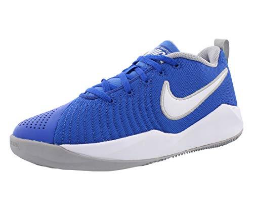 Nike Team Hustle Quick 2 (GS) Boys' Youth Basketball Shoe (Game Royal, 5.5)