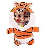 Colgante 3D de muñeca Animal con Foto Personalizada Personalizada Imprime tu Forma de Animal Relleno de Fotos de Cara