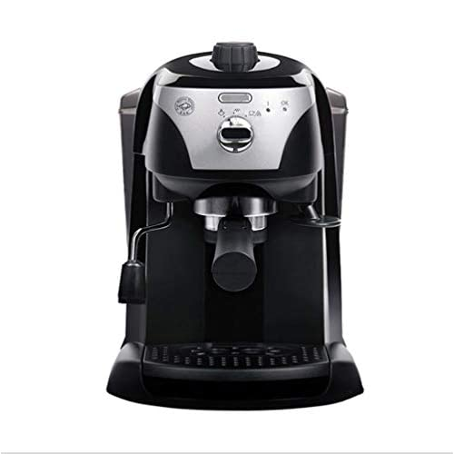 Cvthfyky FUYZB Home semi-automatic pump coffee machine, espresso machine (Color : Black)
