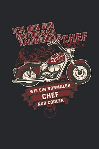 Motorradfahrender Chef - Wie ein normaler Chef nur cooler: Januar 2020 bis Dezember 2020 - Wochen- und Monatsplaner, Terminplaner, Kalender, ... Geschenkideen, Habit Tracker uvm.