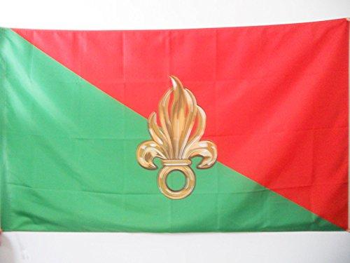 AZ FLAG Flagge Frankreich LÉGION ÉTRANGÈRE 90x60cm - FREMDENLEGION Fahne 60 x 90 cm Scheide für Mast - flaggen Top Qualität