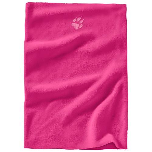 Jack Wolfskin Kinder REAL Stuff Loop Kids Fleeceschal, pink Fuchsia, ONE Size