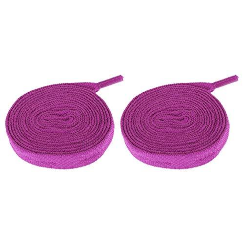 Baoblaze Cordones para Patines Cordones de Skate, Fabricados en Nylon Reemplazable - Púrpura