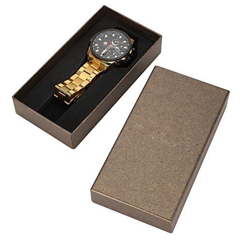 Reloj mecánico para hombre, resistente al agua, para citas, para uso diario