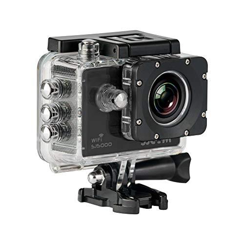 SJCam SJ5000 WiFi (versión española) - Videocámara Deportiva (LCD 2.0in, 1080p 30 FPS, Sumergible hasta 30m) Color Negro (Reacondicionado)