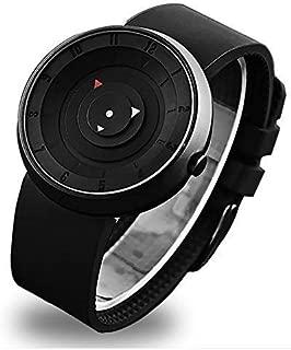 Spanking dazon Analogue Unique Arrow Silicon Analog Men's Watch