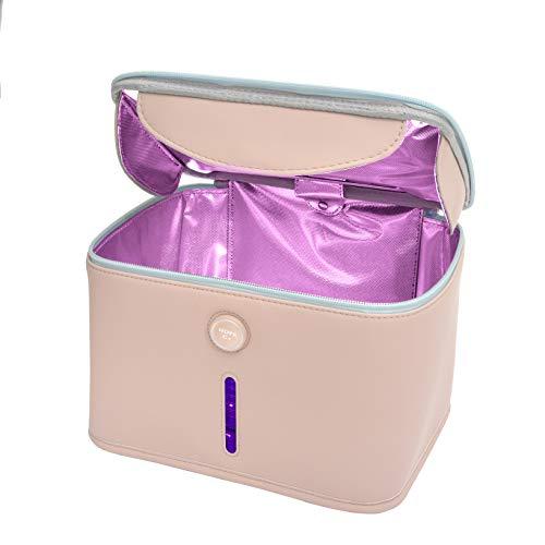 Hope C+ UV light Sanitizer Bag Portable with Cell Rechargeable Endurable with Sanitizing UVC light sanitizer bag Multipurpose Cleaner uv phone sanitizer 265nm LED Kill 99.99%