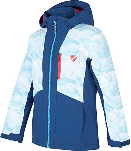 Ziener Kinder Amora Skijacke blau 152