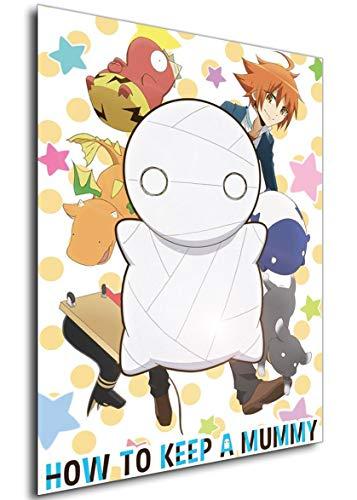 Instabuy Poster - Anime - Miira no Kaikata - How To Keep a Mummy Variant 3 A3 42x30