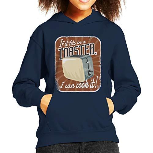Cloud City 7 Als het Past in een broodrooster Ik kan koken Kid's Hooded Sweatshirt