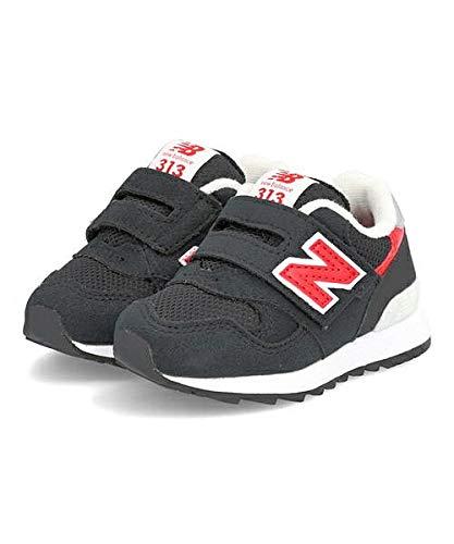 [ニューバランス]女の子キッズ子供靴運動靴通学靴ベビーシューズスニーカーIO313クッション性カジュアルデイリースポーツスクール学校IO313310313ブラック/レッド12.0cm